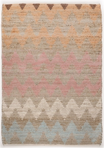 Koberec Tom Tailor Smooth Pastel zig zag - 190 x 290